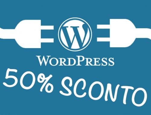 SCONTO ESCLUSIVO del 50% sul tuo Hosting per WordPress