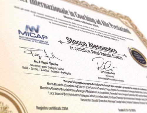 Certificazione Real Result Coach al MICAP. Risultato raggiunto!