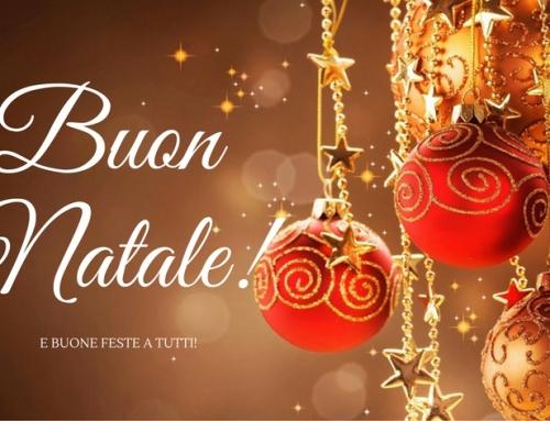 Auguri di Buon Natale e Buone Feste a Tutti!