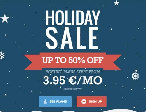 Sconti Fino al -50% per l'Hosting del tuo Sito per le Feste di Natale