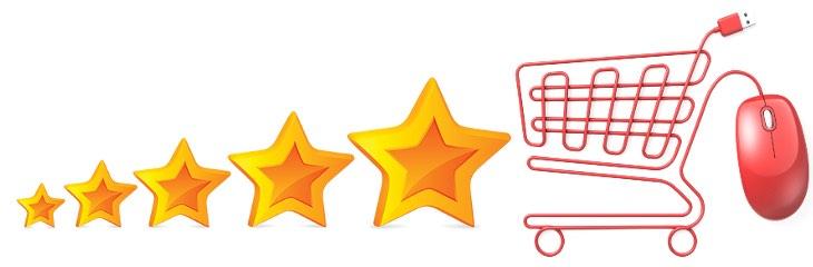 stelline per le recensioni prodotti