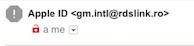 mittente email phishing