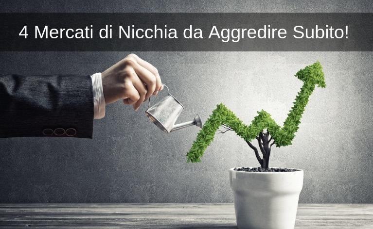 4 Mercati di Nicchia da Aggredire Subito!